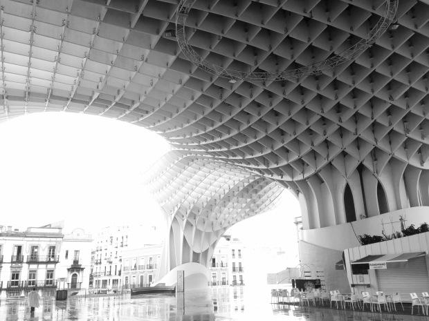 metropol parasol, séville, architecture