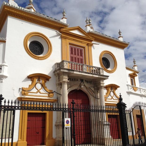 plaza del toro, arène, real Maestranza, seville
